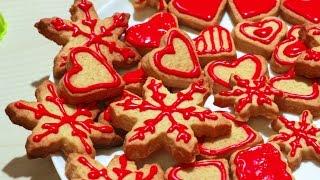 Вкусное печенье на День Святого Валентина // #theworkshop_cook