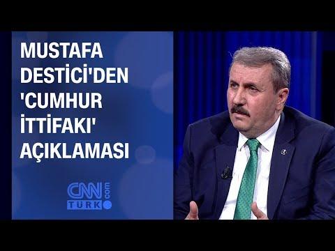 Mustafa Destici'den 'cumhur ittifakı' açıklaması