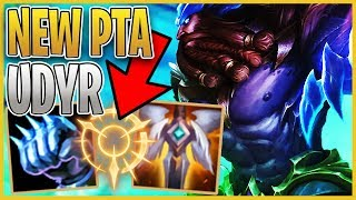 NEW PTA UDYR!?! WTF is this rune ACTUALLY BETTER than CONQUEROR?!? League of Legends
