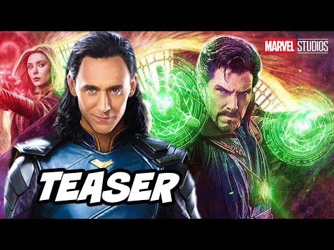 Doctor Strange 2 Loki Crossover and Marvel Phase 4 Teaser Trailer Breakdown