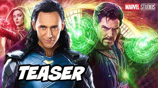 Doctor Strange 2 Loki Crossover and Marvel Phase 4 Teaser Trailer Breakdown