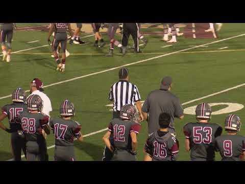 Arlington High School Football vs Woburn Sept. 28, 2017
