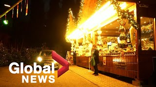Coronavirus: Drive-thru Christmas market is Germany's answer to partial COVID-19 lockdown