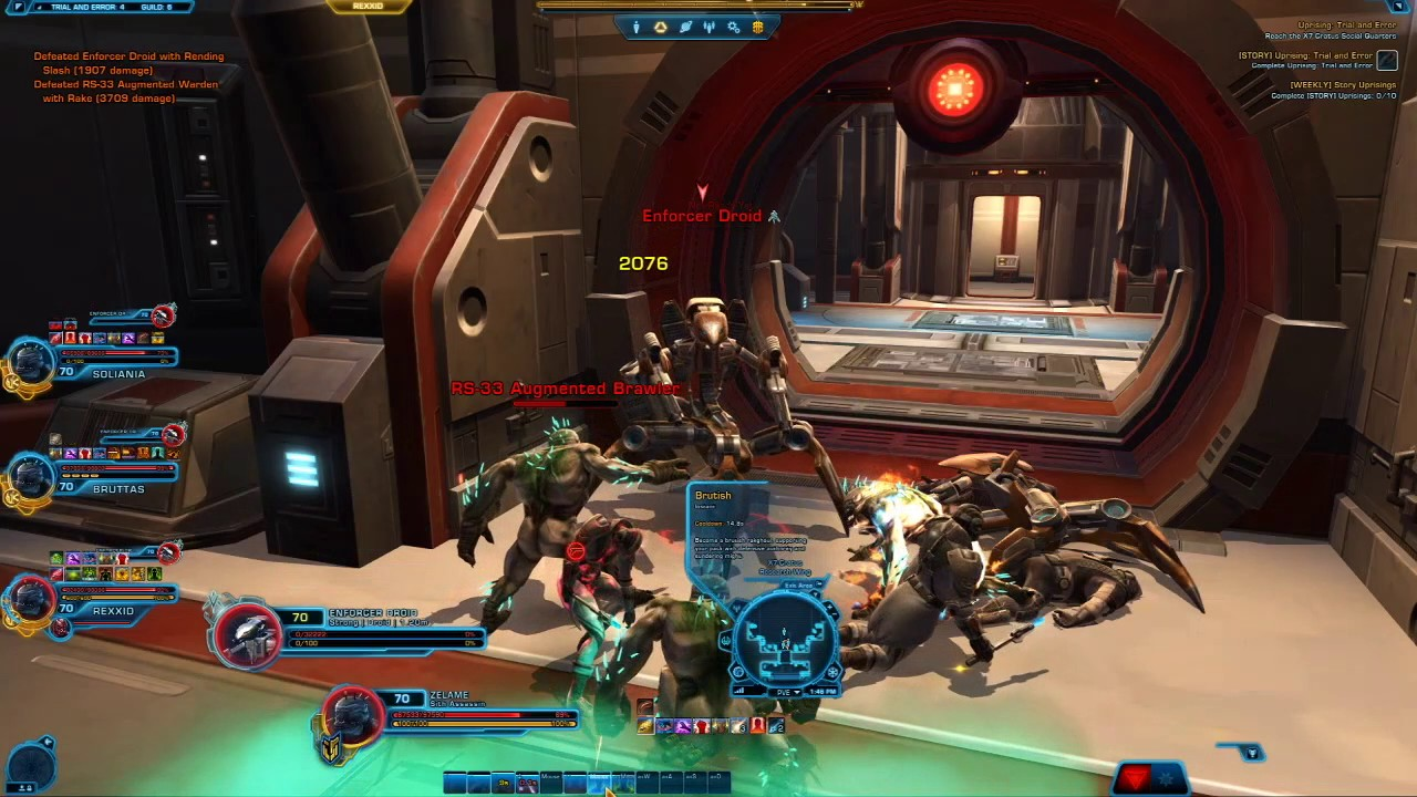SWTOR: Trial and Error Uprising (Story) - YouTube