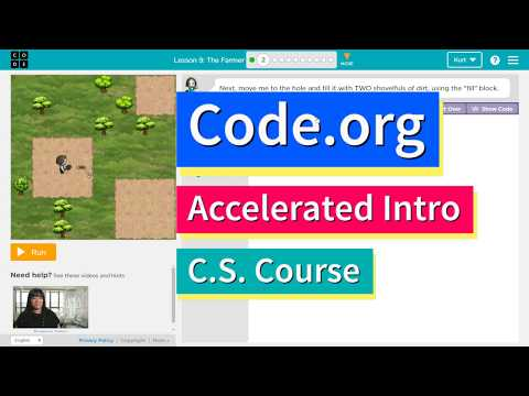 The Farmer - Lesson 9.2 Tutorial with Answers - Code.org CS Accelerated Intro to CS Course