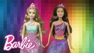 Barbie Princess of the Rainbow & Candy Kingdom Dolls from Mattel
