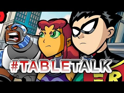 Cartoons, Toys, and Cactus Fruit - It's #TableTalk!