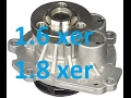 How to replace water pump on 1.6, 1.8 Astra, Zafira, Insignia, Vectra a16xer a18xer
