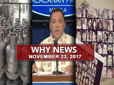 UNTV: Why News (November 23, 2017)