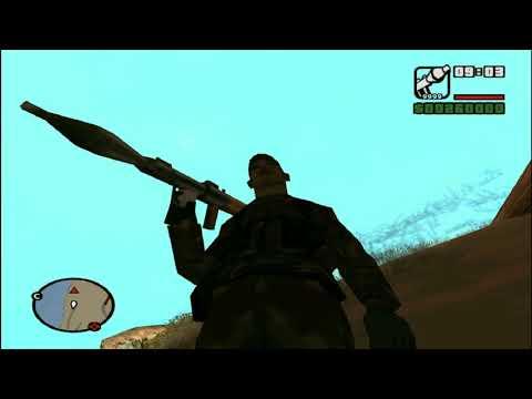 Освобождение Зангилана от армян (мод GTA San Andreas)