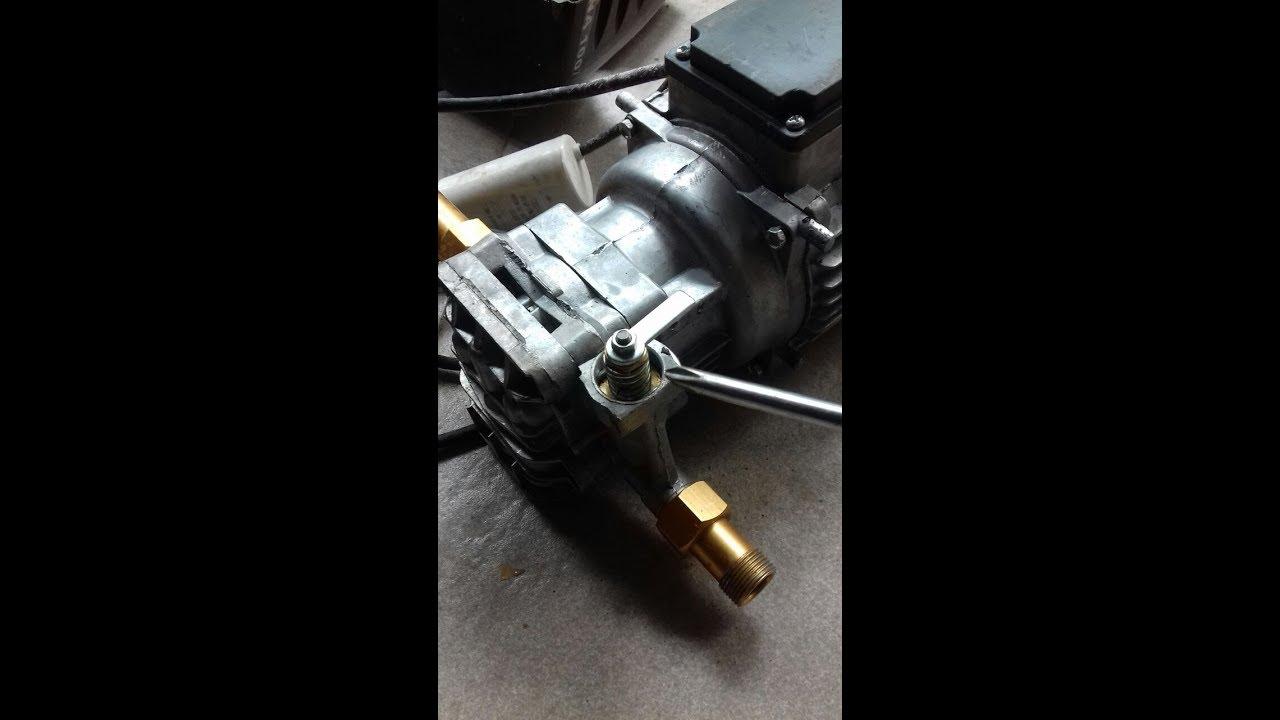 Service High Pressure Cleaner Otomatis Nya Bermasalah