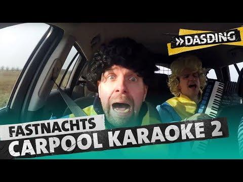Die DASDING Fastnachts Carpool Karaoke - Teil 2: Heininger & Schier | DASDING Mainz