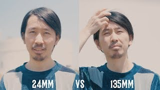 Different Focal Length Explained when Shooting Portrait in Mandarin