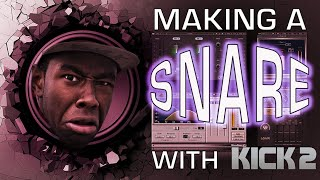 Making a Snare in Kick 2 | Advanced Drum Sound Design Tutorial