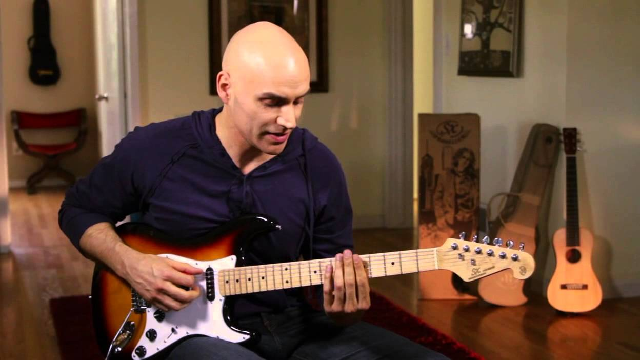 SX American Alder Electric Guitar Demo - YouTube