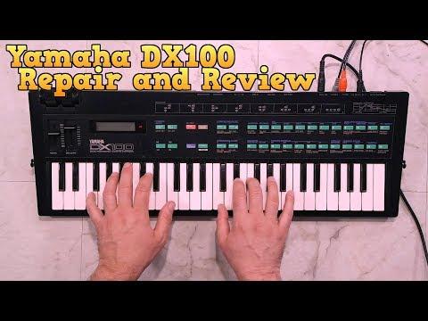 Yamaha DX100 Repair and Review