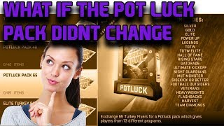 WHAT IF THE CORNUCOPIA/POT LUCK PACK DIDNT GET CHANGED IN MADDEN 19 ULTIMATE TEAM