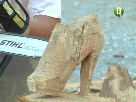 Поділля-центр: Дерев'яний каменяр та скульптор з'явились у Кам'янці-Подільському