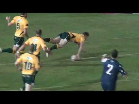 World Rugby Classic 2013: USA vs Australia (1st Half)
