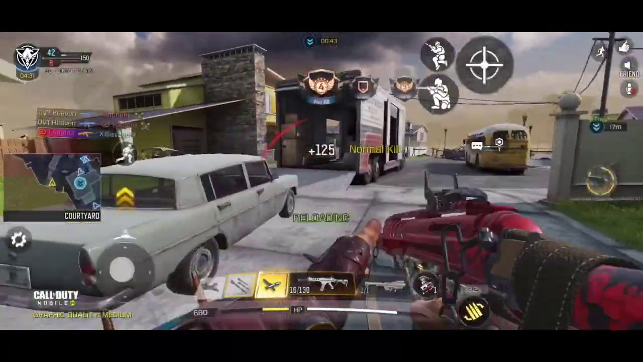 GARENA PRO PLAYER PLAYS ON NA SERVERS   Call of Duty Mobile   Legendary ranked highlights