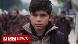 Inside Bosnia's 'nightmare' migrant camp - BBC News