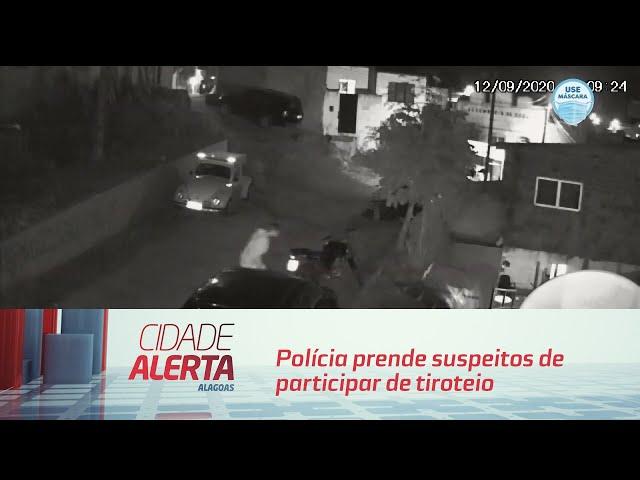 Polícia prende suspeitos de participar de tiroteio no bairro do Jacintinho