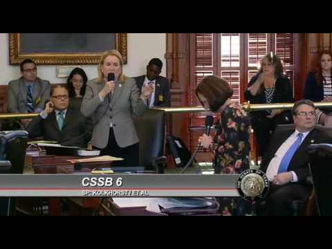 Image result for sylvia garcia in opposition to sb 6