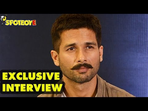 Exclusive Interview of Shahid Kapoor for Rangoon by Vickey Lalwani | SpotboyE