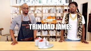 Trinidad James Brings His Yeezy IIs Back to Life at Jason Markk