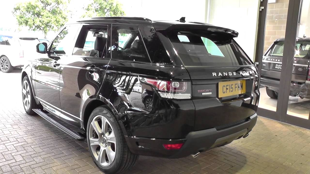 Land Rover Range Sport 2016my Sdv6 Hybrid Autobiography Dynamic U10373 You
