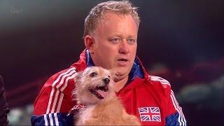 Britain's Got Talent 2015 S09E08 Semi-Finals Mitch & Cally The Wonderdog World Record Attempt