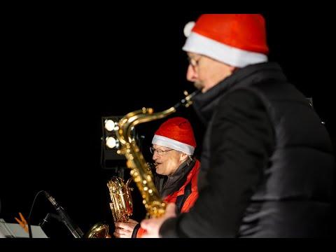 Saxophon-Andacht über Bergisch Gladbach hinweg