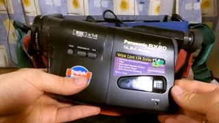 Panasonic NV-RX 20 EN VHS-C Camcorder with Accessories