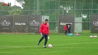 Trabzonspor Antrenmanında Haber61'e taciz ateşi