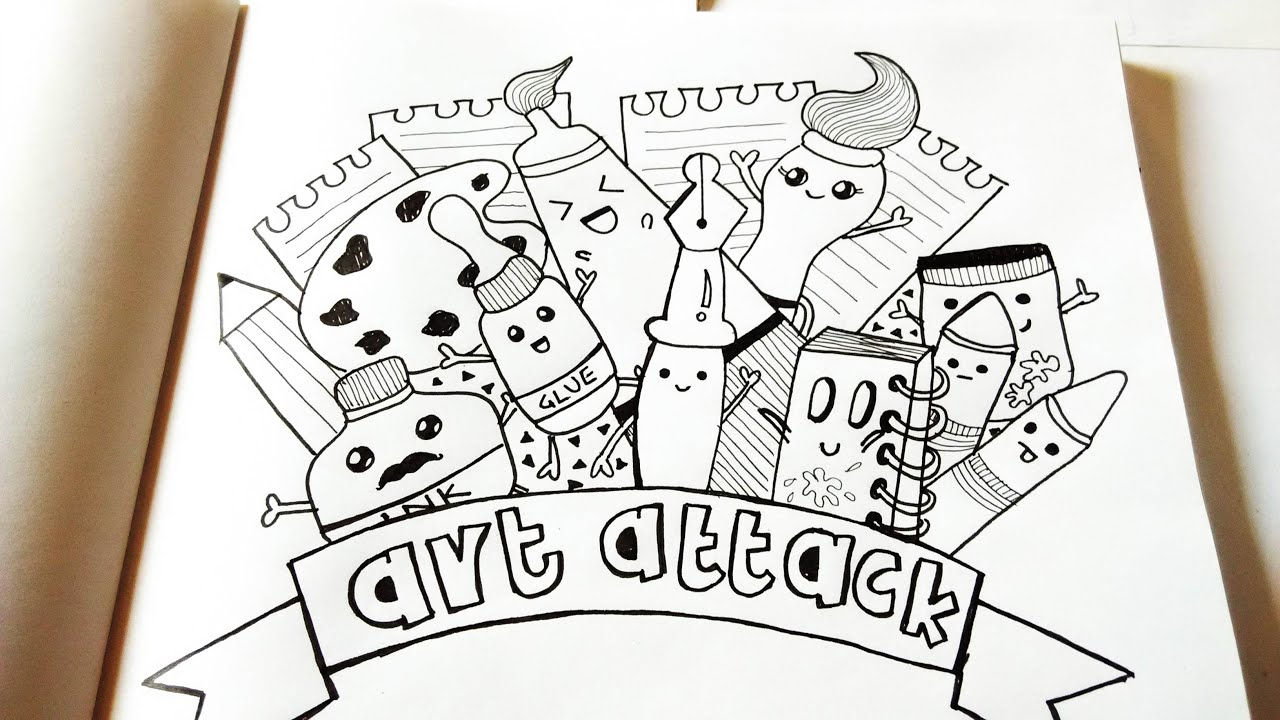 Download doodle art drawing videos
