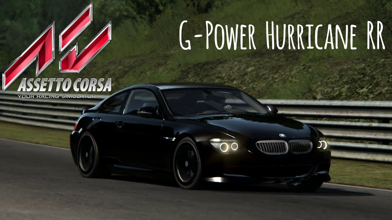 pure driving 7 assetto corsa bmw m6 g power hurricane rr hd 1080p 60fps youtube. Black Bedroom Furniture Sets. Home Design Ideas