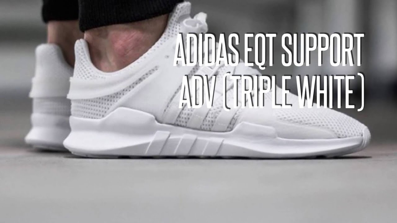 adidas originals eqt support adv white
