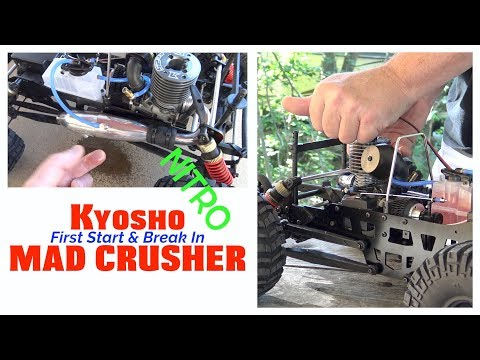 Kyosho Mad Crusher Unboxed And Introduced Doovi