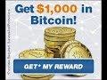 bitcoin|$1000 in Bitcoin reward|%100 guaranteed and legit