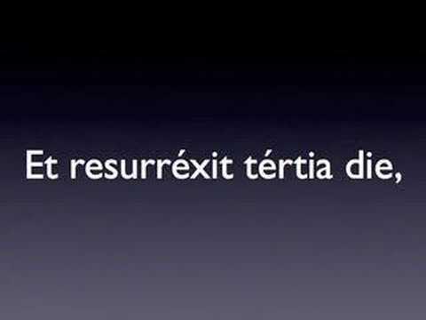 TÉLÉCHARGER CREDO EN LATIN MP3