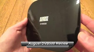 August DVB500 TV Tuner and Android Box Review