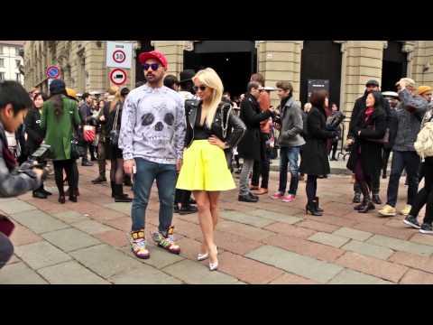 Street Style men's fashion week Milan january 11 – 14, 2014