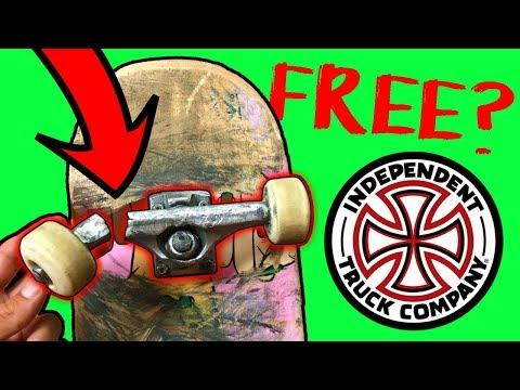 FREE SKATE TRUCKS FOR LIFE!?