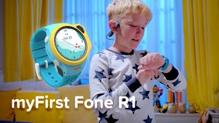 MyFirst Fone R1 - 4G Kids Smartwatch Phone And Wireless Bone Conduction Headphones Product Video