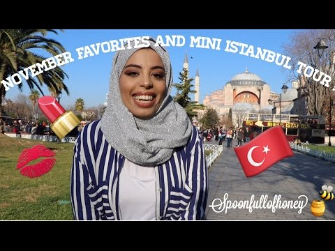 November (and kinda December 😂) Favorites and Mini Istanbul Tour! 🇹🇷❤️💄
