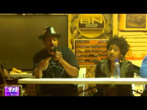 Clip #1 Panel Discussion What's the purose of Hip Hop?  HDV 0254
