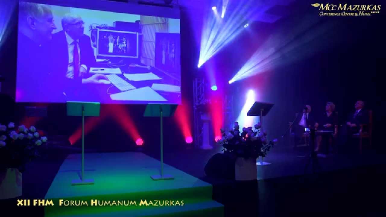 XII Forum Humanum Mazurkas-projekcja wiersza