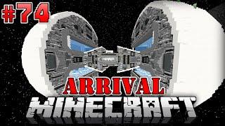 TODESSTERN RAUMSCHIFF?! - Minecraft Arrival #074 [Deutsch/HD]
