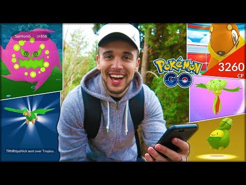 ONE OF MY LUCKIEST ADVENTURES! (Pokémon GO)