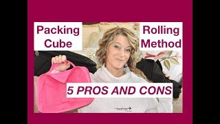 Packing Cube Method or Rolling Method for Travel (5 Pros and Cons)